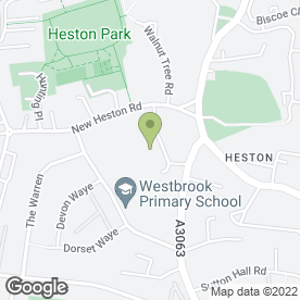 Map of MOT Centre Heston in Church Road, Hounslow, middlesex