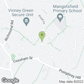 Map of South West Automotive Technology in Emersons Green, Bristol, avon