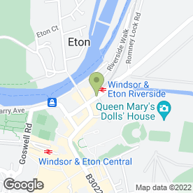 Map of Home Perk Sandwich Bar in Windsor, berkshire