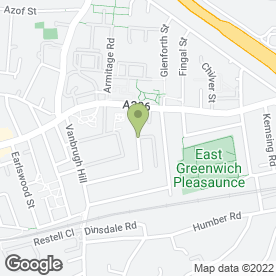 Map of Greenwich Plumbing & Heating - Boiler Breakdowns in London, london
