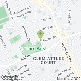 Map of Sash Window Repairs in Kensington, London, london