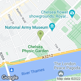 Map of Gordon Ramsay Restaurant in London, london