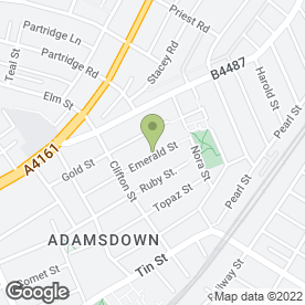 Map of Golden Glow Spray Tanning in Cardiff, south glamorgan