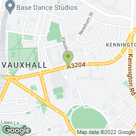 Map of Big Yellow Self Storage Kennington in LONDON, london