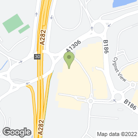 Map of Odeon Cinema in West Thurrock, Grays, essex