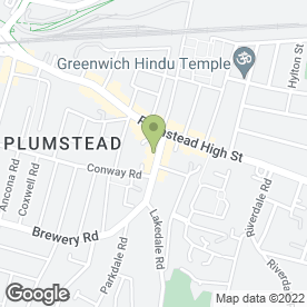Map of Greggs in Plumstead, London, london