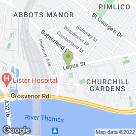 Map of PIMLICO SPICE in London, london