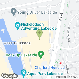 Map of PizzaExpress in West Thurrock, Grays, essex
