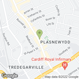 Map of Lilo Grill House in CARDIFF, south glamorgan