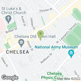 Map of A SMOOTH MOVE in Chelsea, London, london