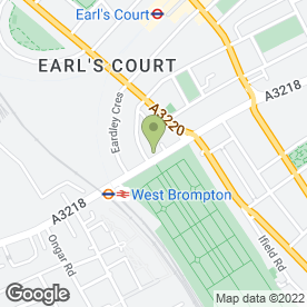Map of Shine Professional Cleaning in London, london