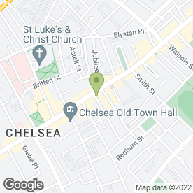 Map of Chelsea Potter in London, london