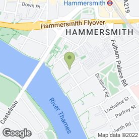 Map of Riverside Bar & Kitchen in London, london