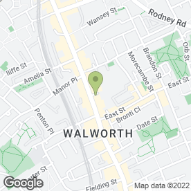 Map of WORKS HAIR & HEALTH BEAUTY SALON in London, london