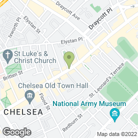 Map of PizzaExpress in London, london