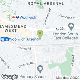 Map of Woolwich Plumbing & Heating - Boiler Breakdowns in London, london