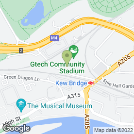 Map of Brentford Commercials Ltd in Brentford, middlesex