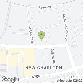 Map of Halfords Autocentre in Charlton, London, london