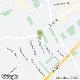 Map of aspect.co.uk Roofers in London, london