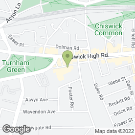 Map of The Gift Workshop in Chiswick, London, london
