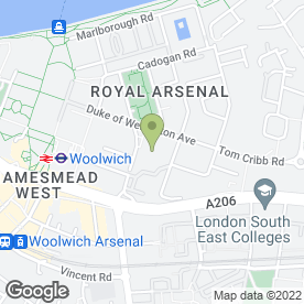 Map of Asset Management Surveyors Ltd in London, london