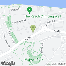 Map of Access Self Storage Woolwich in LONDON, london