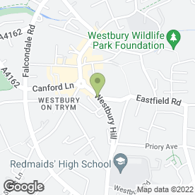 Map of Charles Barnsley- Westbury-On-Trym Clinc in Bristol, avon