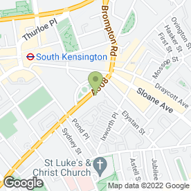 Map of Fired Earth Ltd in London, london