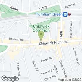 Map of West Kebab in Chiswick, London, london