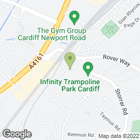 Map of Oakhouse Foods in Cardiff, south glamorgan