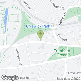 Map of Wickes Chiswick in London, london