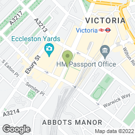 Map of KNIGHTS DRY CLEANERS in London, london