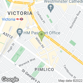 Map of Oakwood Plumbing Service in London, london