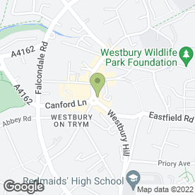 Map of Andrews Estate Agents in Westbury-on-Trym, Bristol, avon