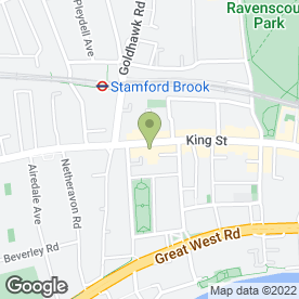 Map of Jasmine Garden Oriental Cuisine in London, london