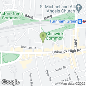 Map of West London Dental Centre in London, london