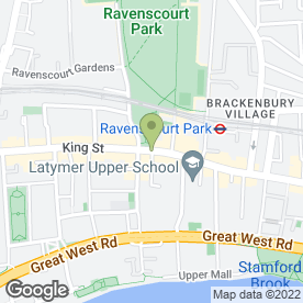 Map of Low Cost - Van & Car Hire in London, london