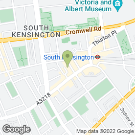 Map of Bangkok Restaurant in London, london