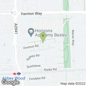 Map of Abbey Wood Plumbing & Heating - Boiler Breakdowns in London, london