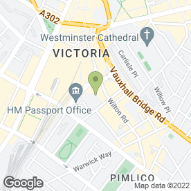 Map of H & M Locksmith Services in London, london