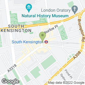 Map of Muriels Kitchen in London, london