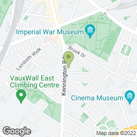 Map of East London Aerials & Satellites in London, london