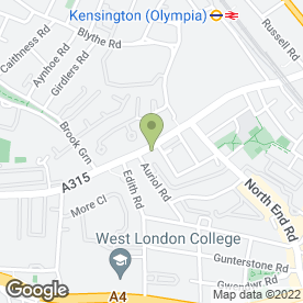 Map of Kanna Thai Restaurant in London, london