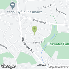 Map of Squeaky Clean Wales in Fairwater, Cardiff, south glamorgan