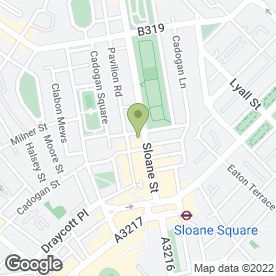 Map of Dr Susan Mayou in London, london