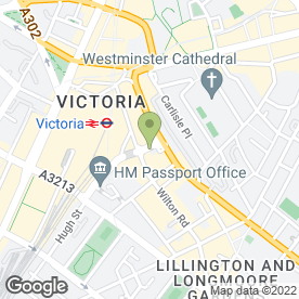 Map of Plumb London Westminster in London, london