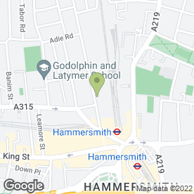 Map of QMS Healthcare in London, london