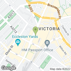Map of Byron Finance in London, london