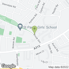 Map of Step by Step Day Nursery in London, london