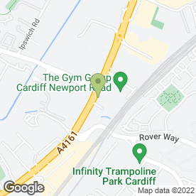 Map of Safestore Self Storage in Cardiff, south glamorgan